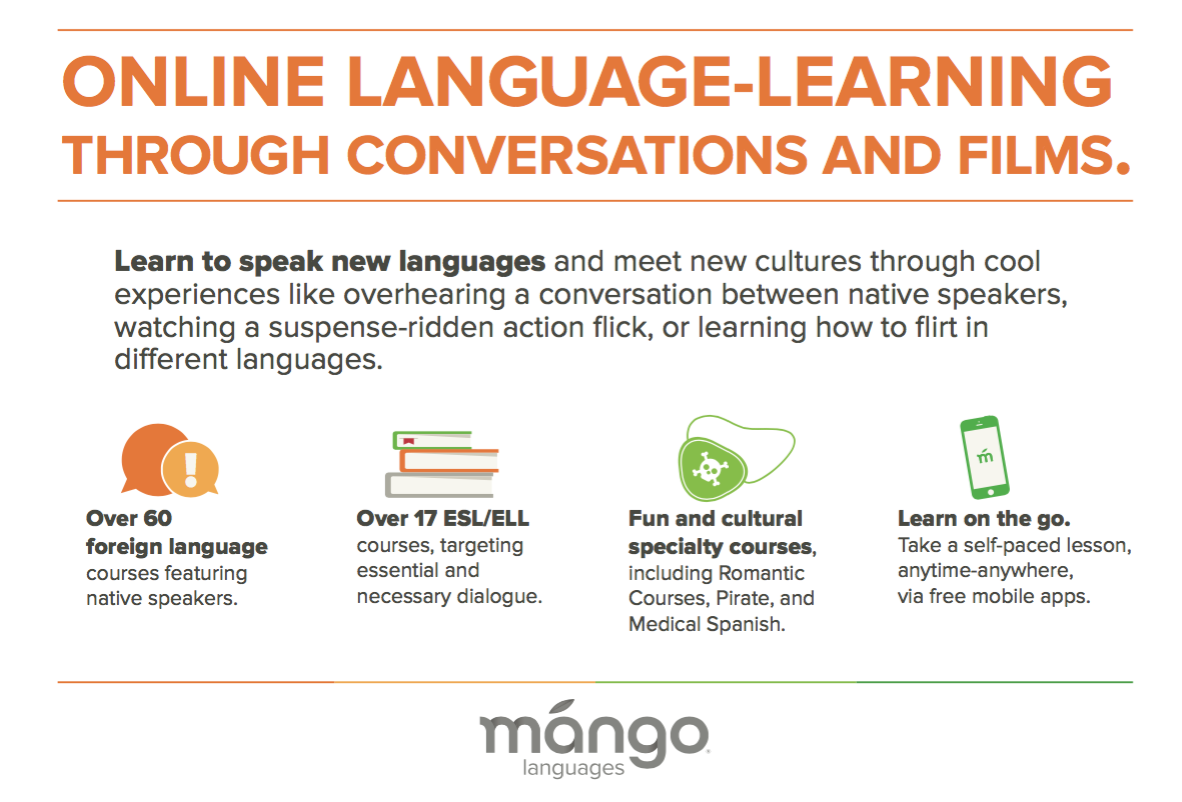 Featured resource learn a new language with mango languages mango gives language learners a foundation in everyday conversation and culture from greetings to shopping to navigating a city and ordering in a kristyandbryce Images