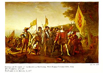 Landing of Columbus, John Vanderlyn