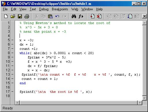 Matlab if statements for Table 2 matrix matlab