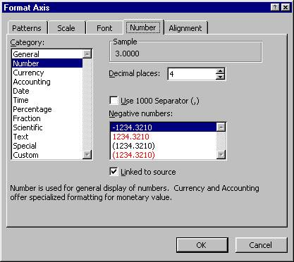 how to change how many decimal places in excel