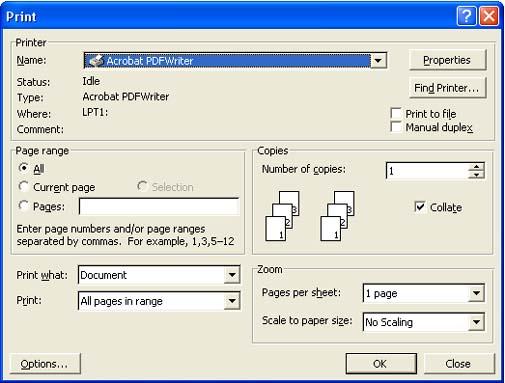 what is adobe pdf writer