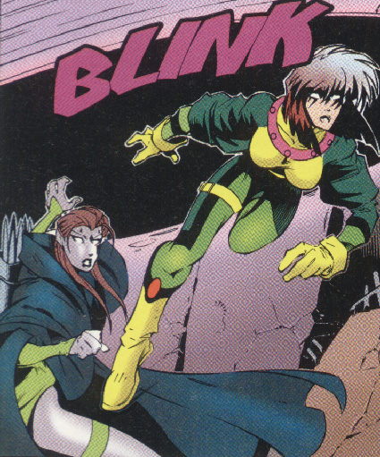 Astonishing X-Men 3 features X Men Age Of Apocalypse Blink