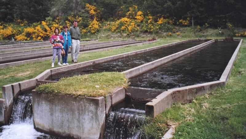 Spanish tools bariloche argentina for Trout farm fishing